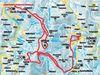 Streckenverlauf der Hirschenstein-Loipe
