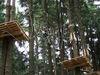 Klettern in luftiger Höhe im Kletterwald in St. Englmar