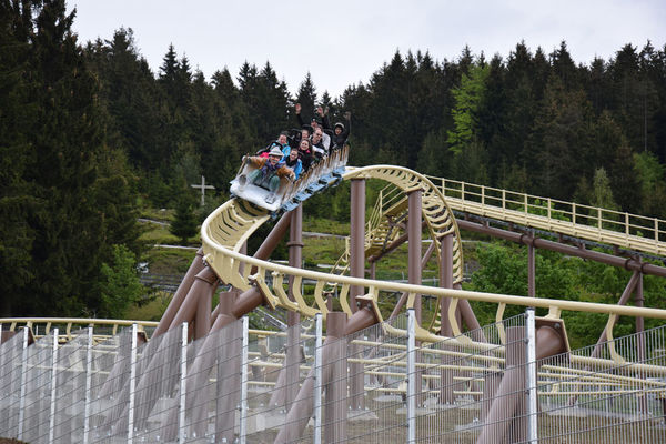 Da voglwuide Sepp: Die längste Achterbahn Bayerns am Egidi-Buckel