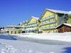 Winterstimmung beim Hotel Angerhof in St. Englmar im Bayerischen Wald