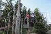 Kletterspaß im Seilgarten im WaldWipfelWeg St. Englmar - Maibrunn