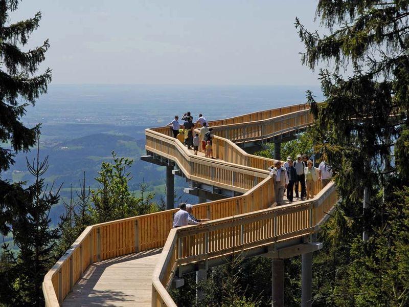 Herrliche Aussicht am WaldWipfelWeg in Maibrunn bei St. Englmar