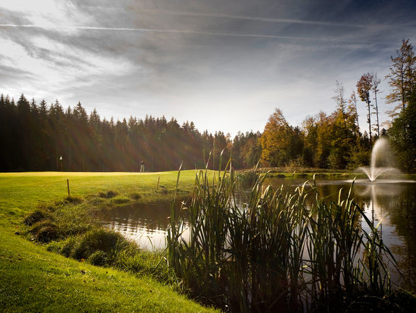 See in der Anlage des Golfclubs am Nationalpark