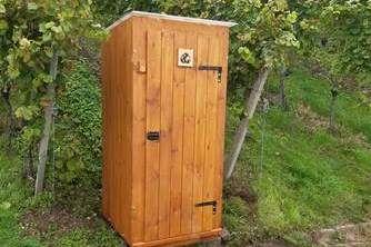 Bio Toilette an der Panoramarunde