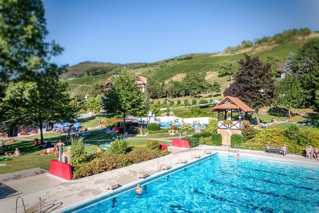 Piscine de loisirs en plen air sasbachwalden - Hotel en foret noire avec piscine ...