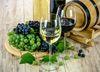 Trauben und Wein