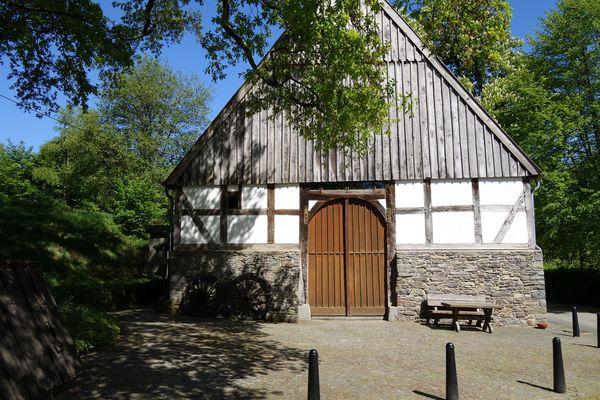 Der Eingang zum Bauernhaus Wippekühl