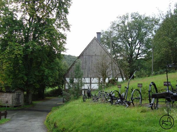 Eingang zum Bauernhaus Wippekühl
