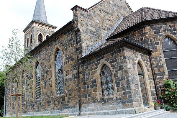 Die ev. Erlöserkirche in Schalksmühle