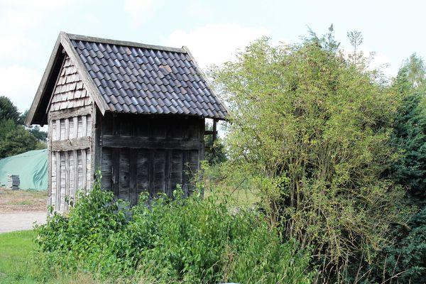 Der historischen Haferkasten im Ortsteil Heedfeld