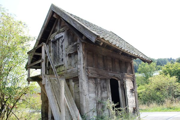Der historische Haferkasten im Ortsteil Reeswinkel