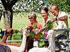 Ideal für Gruppen - der Alpakahof Schreiber bei Schaufling