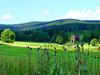 Traumhafte Landschaft beim Golfplatz auf der Rusel