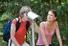 Markante Punkte auf dem GEHsundheitsweg im Wandergebiet Rusel-Hausstein bewundern