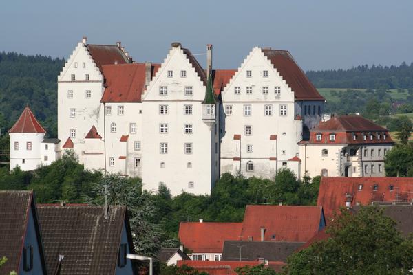 Schloss in Scheer