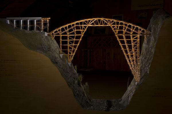 Brückenmodellbau Ausstellung Schiers