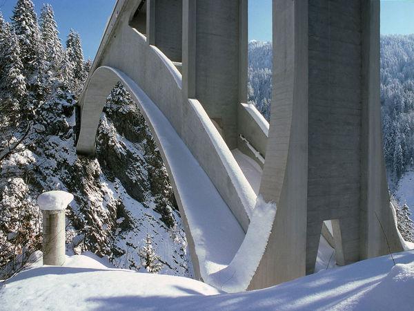 Salginatobelbrücke; Schiers, Prättigau, Graubünden, Schweiz