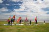 Surfschule Windloop am Strand von Schillig