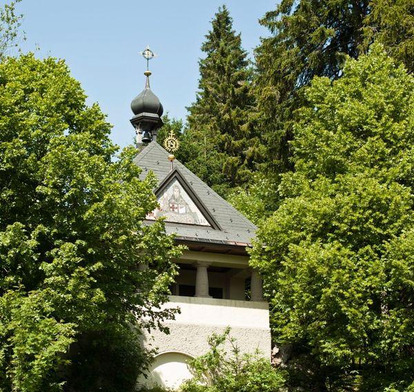 Brisgovenkapelle Schluchsee Hinterhäusern Außenansicht der Brisgovenkapelle, Schluchsee Hinterhäusern