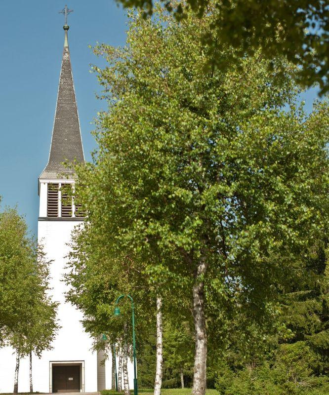 Filialkirche Maria Königin Schluchsee - Außenansicht