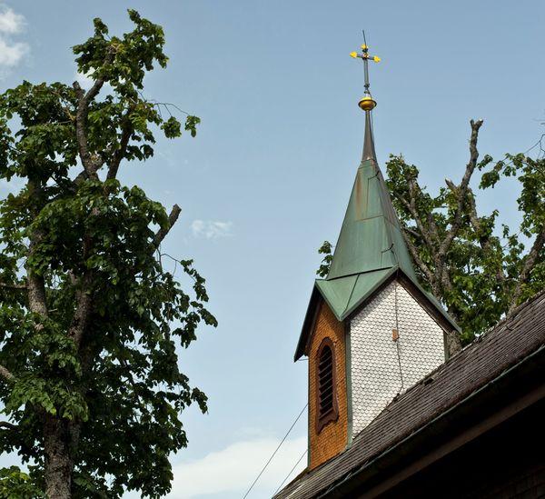 Außenansicht der Pantaleonkapelle Schluchsee