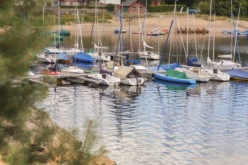 Segelboote am Schluchsee