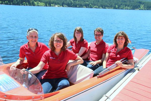 Mitarbeiterteam Schluchsee Stand Sommer 2017