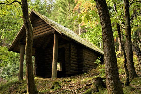 Die Schutzhütte Beerenberg