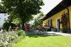 Gemütlicher Biergarten im Gasthof zum Sonnenwald