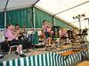Musikalische Unterhaltung mit der Blaskapelle Zenting beim Sonnenwaldfest in Schöfweg