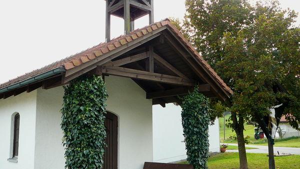 Die Kapelle Mutzenwinkel in der Gemeinde Schöfweg im Sonnenwald