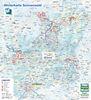 Winterkarte der Region Sonnenwald im Bayerischen Wald