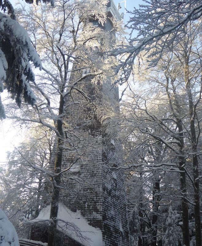 Aussichtsturm am Brotjacklriegel