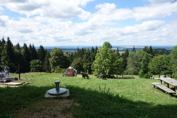 Ausblick vom Oberhohenberg