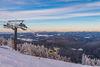 Belchen- Seilbahn im Winter