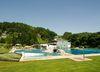 Blick auf die Becken im Erlebnisbad in Schönberg