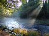 Herbststimmung an der Ilz im Bayerischen Wald