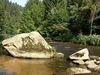 Sommeridylle an der Ilz im Bayerischen Wald