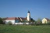 Blick auf die Klosterkirche in Schönthal im Waldmünchner Urlaubsland