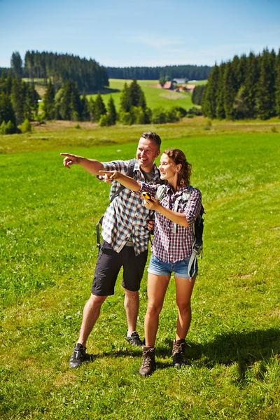 Geocaching durch das Ferienland