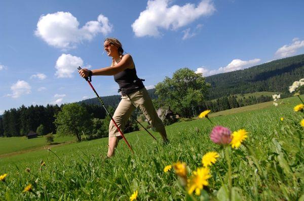 Nordic-Walking im Ferienland Schwarzwald