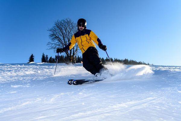 Alpiner Skispaß im Naturschutzgebiet Rohrhardsberg