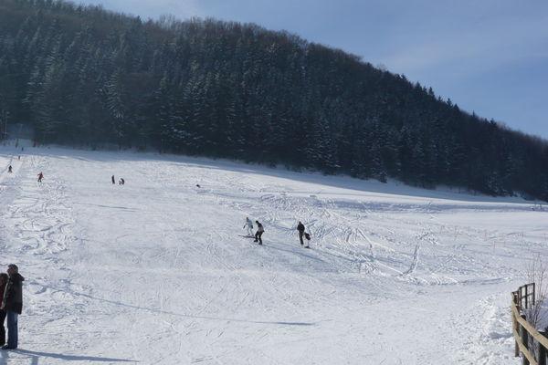 Skilift Winterhalde in Degenfeld