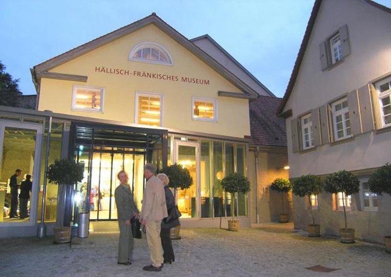 Hällisch-Fränkisches Museum - Eingang