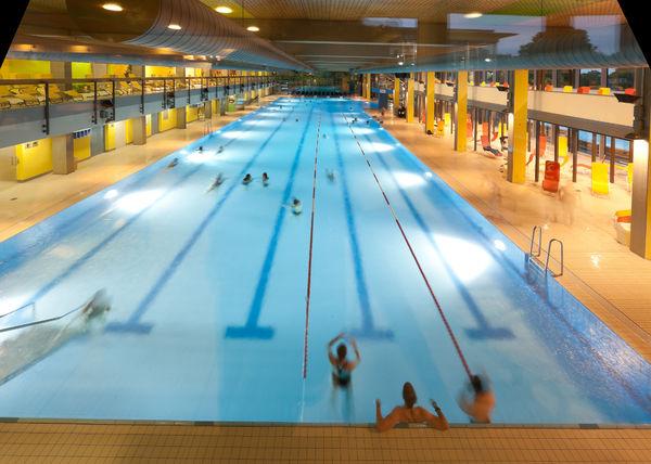 50 m Becken im Schenkenseebad