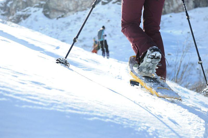 Geführte Schneeschuhtour: Ab id Leglerhüttä