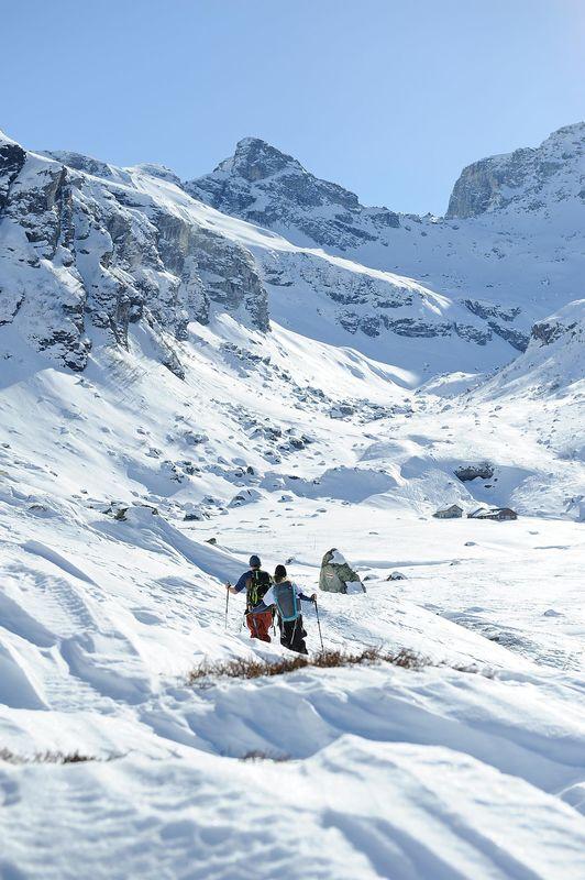 Geführte Schneeschuhtour: Ab id Höchi ufä Hohberg