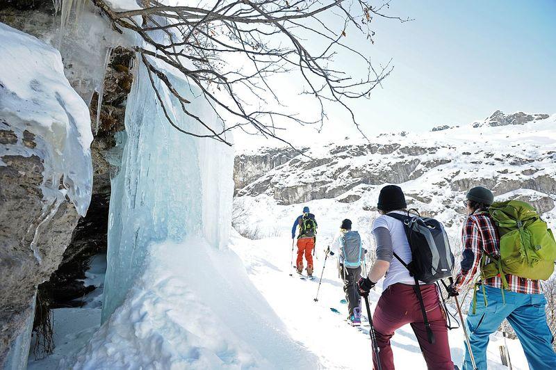 Geführte Schneeschuhtour: Id Schönau gu Plegerä