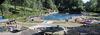Wunderschön gelegen: Das Freizeitbad in Schwarzach