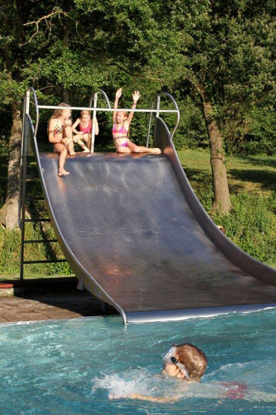 Rutsche im Freizeitbad Schwarzach